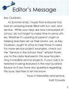 Florida Key Club's Sunshine Source Vol X No 3 Sep 2014 - Page 3