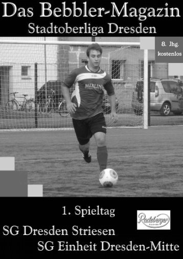 Das Bebbler-Magazin - 1. Spieltag 2014/2015