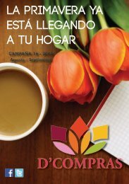 Catálogo D'Compras Ayacucho. Campaña Agosto Setiembre 2014