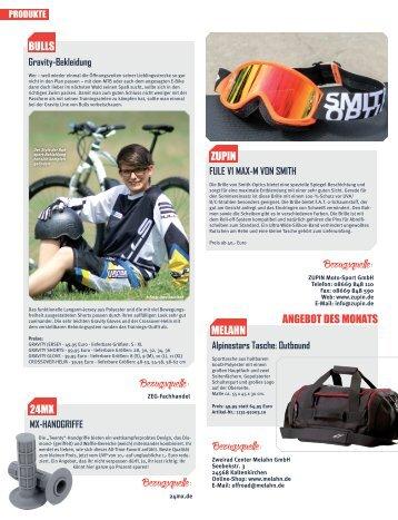 Motocross Enduro - Produkte 09/2014