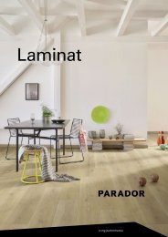 Parador - Laminat Programm