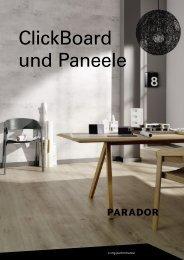 Parador - Clickboard und Paneele