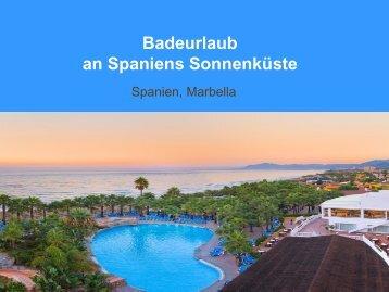 Badeurlaub an Spaniens Sonnenküste