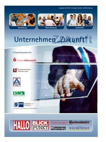 Unternehmen Zukunft Greven 02/2014