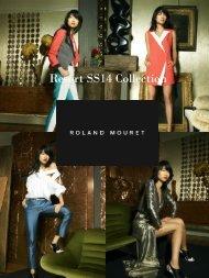 Roland Mouret Resort Spring Summer Collection 2014