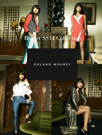 Roland Mouret Resort Spring Summer Collection 2014