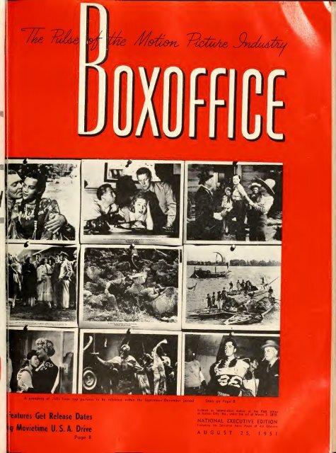 foto de Boxoffice-August.25.1951