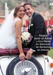 Magica boda de Adrian y Ana María en Balcones de Bentomiz en Arenas