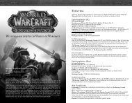 Einstieg Willkommen zurück in World of Warcraft
