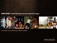 MANOR BRANDS |