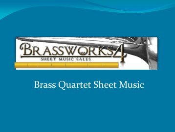 Brass Quartet Sheet Music