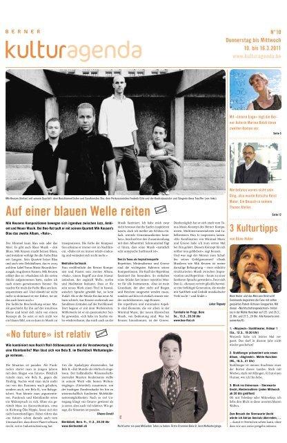 Berner Kulturagenda 2011 N°10
