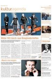 Berner Kulturagenda 2011 N°14