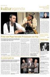 Berner Kulturagenda 2011 N°18