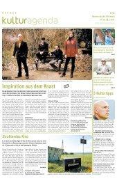 Berner Kulturagenda 2011 N°28