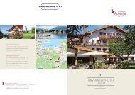 Unvergleichlich Tagen - Tagungen, Seminare im Golf Resort Achental