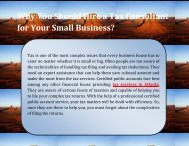 Why You Should Hire a Tax Consultant for Your Small Business?