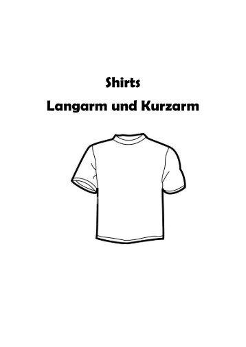 Shirts Langarm und Kurzarm