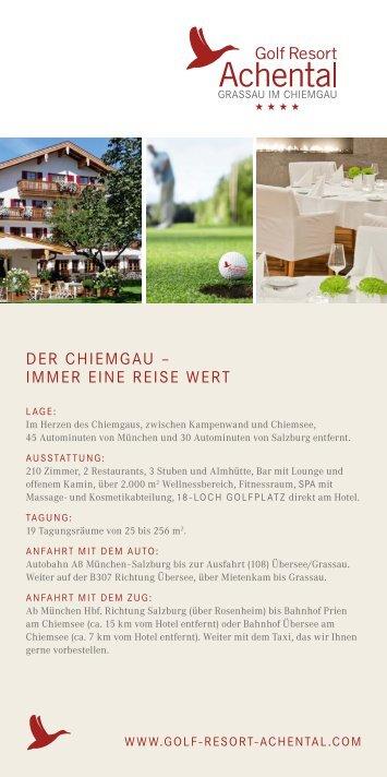 Chiemgau & Chiemsee immer eine Reise wert