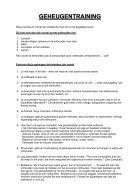 CURSUS PRAKTISCHE GEHEUGENTRAINING - Page 2
