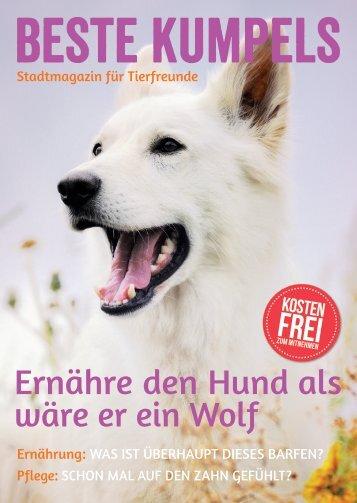 Ernähre den Hund als wäre er ein Wolf