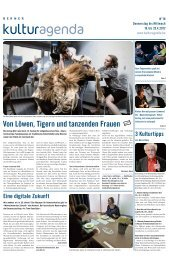 Berner Kulturagenda 2012 N°16