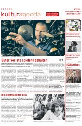 Berner Kulturagenda 2013 N°01