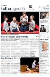 Berner Kulturagenda 2012 N°22