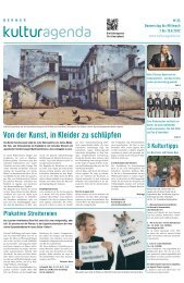 Berner Kulturagenda 2012 N°23