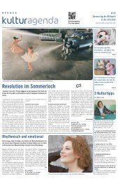 Berner Kulturagenda 2012 N°25