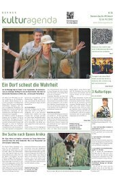 Berner Kulturagenda 2012 N°28