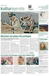 Berner Kulturagenda 2012 N°32