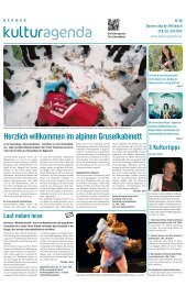 Berner Kulturagenda 2012 N°39
