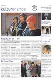 Berner Kulturagenda 2012 N°46