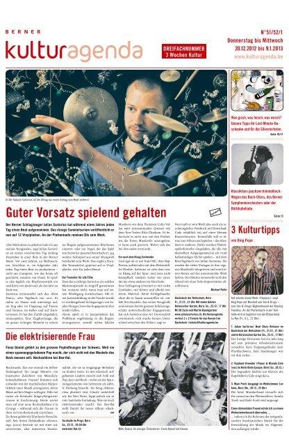 Berner Kulturagenda 2012 N°51