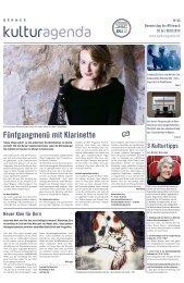 Berner Kulturagenda 2013 N°43