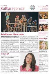 Berner Kulturagenda 2013 N°45