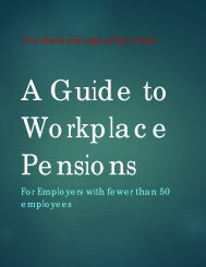 A Guide to Workplace Pensions