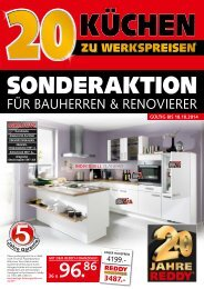 Küchen zu Werkspreisen
