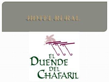 Hotel rural El duende del Chafaril. San Martín de Trevejo, Cáceres.