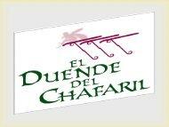 El SPA del Hotel el duende del Chafaril