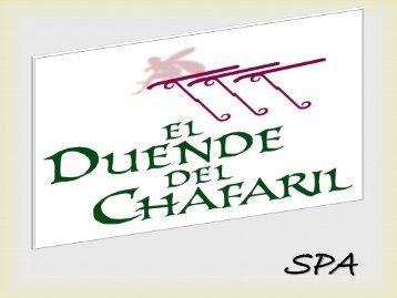 El SPA del Hotel rural El duende del Chafaril. Cáceres