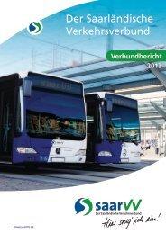 saarVV Verbundbericht 2013