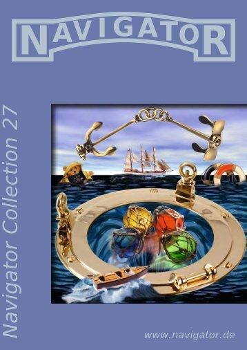 Navigator Katalog - Maritime Werbung