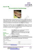 Kurs 01 Praxistag Aromamassage - Seite 7