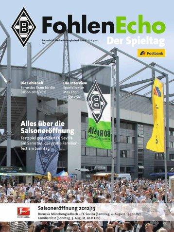 FC Sevilla - Borussia Mönchengladbach