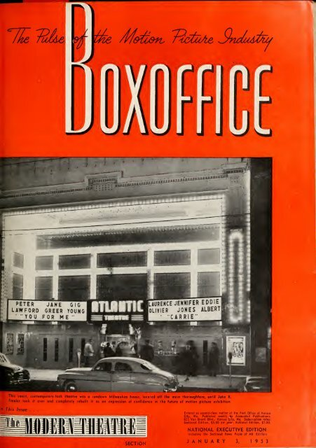 Boxoffice-January 03 1953