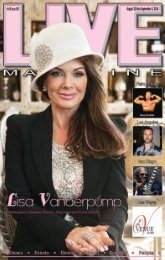 LIVE MAGAZINE VOL 8, Issue #190 August 22nd THRU September 5, 2014