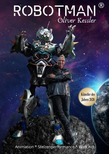 25 Jahre Robotman ® Oliver Kessler Ausgezeichnet mit Germany at it´s best NRW