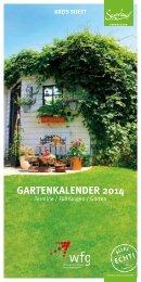 Gartenkalender 2014